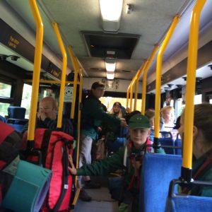 Trængsel i bussen